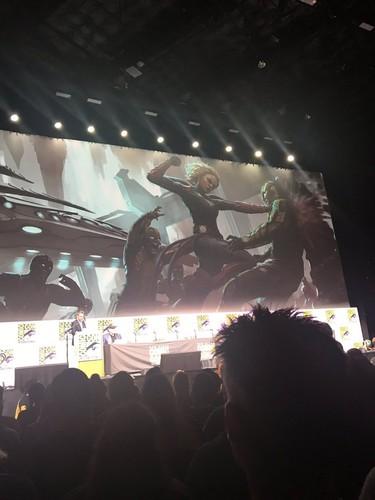 Marvel's Captain Marvel wallpaper entitled Captain Marvel - Concept Art - SDCC 2017