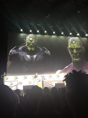 Captain Marvel - Concept Art - SDCC 2017