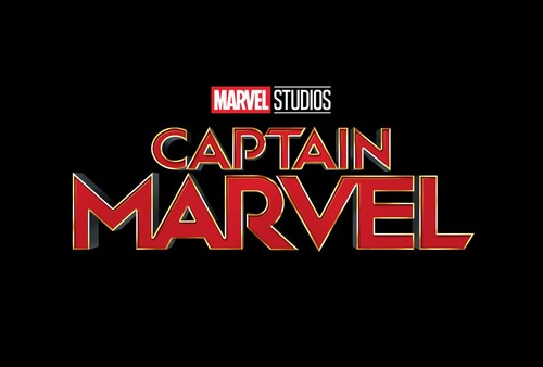 Marvel's Captain Marvel Hintergrund entitled Captain Marvel - Official Logo