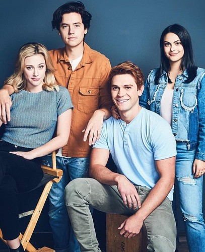 Riverdale (2017 TV series) 壁纸 called Cast Riverdale