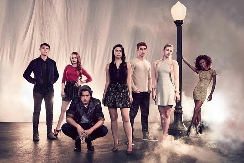 Riverdale (2017 TV series) fond d'écran titled Cast Riverdale