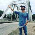 Chad Michael Murray on OTH Bridge - one-tree-hill photo