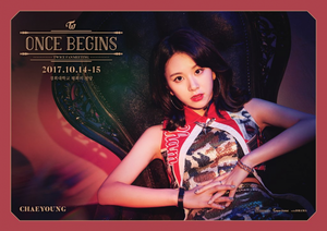 Chaeyoung- Once begins