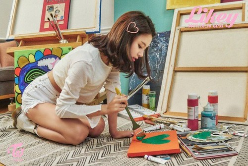 """Twice (JYP Ent) वॉलपेपर entitled Chaeyoung teaser image for """"Likey"""""""
