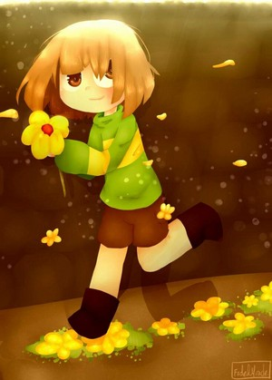 Chara Dreemurr, The Child of Golden fiori