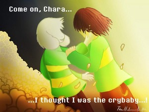Chara and Asriel Reunited