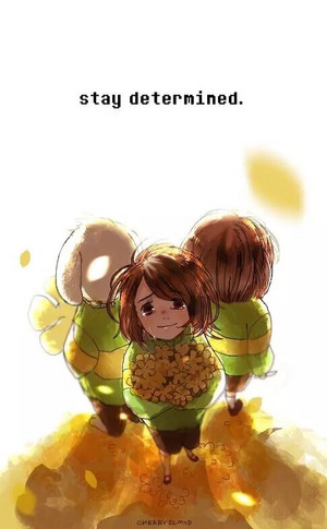 Chara and Asriel: Stay Determined