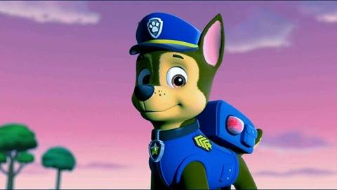 PAW Patrol Wallpaper Called Chase