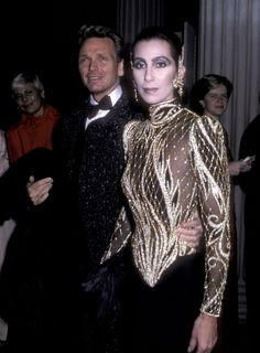 Cher And Designer, Bob Mackie