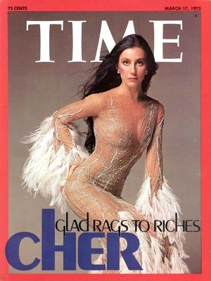 Cher On The Cover Of Time