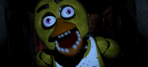 Five Nights at Freddy's wallpaper entitled Chica