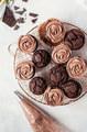 Chocolate Cupcakes - chocolate photo