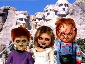 Chucky family 照片