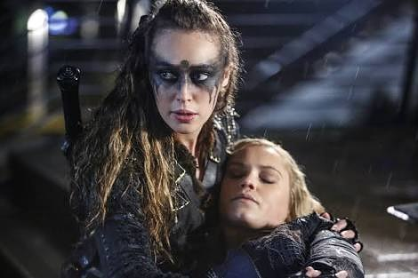 Clarke and Lexa fond d'écran titled Clarke and Lexa