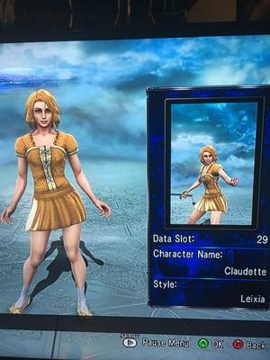 Claudette in Soul Calibur 5