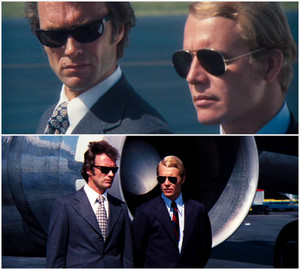 Clint Eastwood in magnum Force (1973) with David Soul