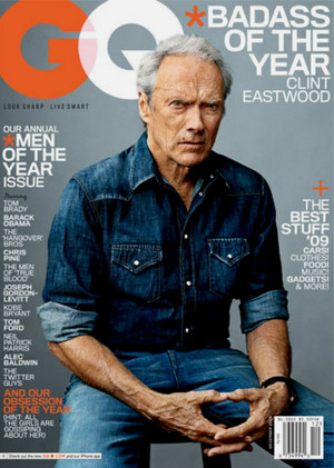 "Clint- GQ Dec. 2010 ""Men of the Year"" Cover"