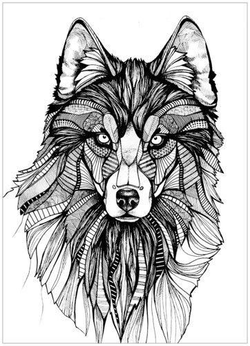 Coloring Обои entitled Colouring Page