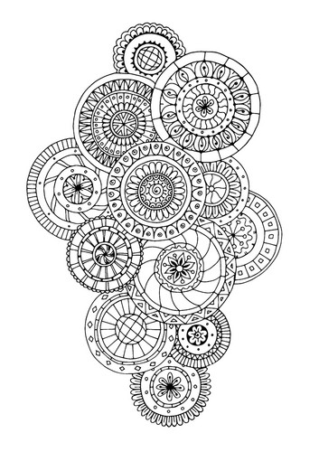 Coloring Обои called Colouring Page