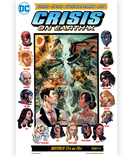 DC's Legends of Tomorrow wallpaper called Crisis on Earth X - DC CW Crossover Event