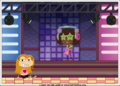 DJ Saturday nite and Issabelle - poptropica photo