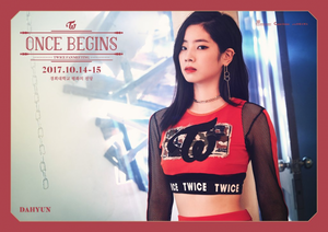 Dahyun for 'Once Begins'