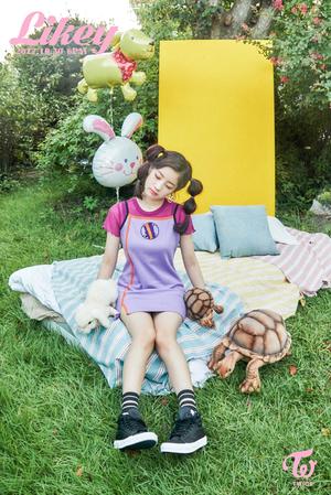 """Dahyun teaser image for """"Likey"""""""