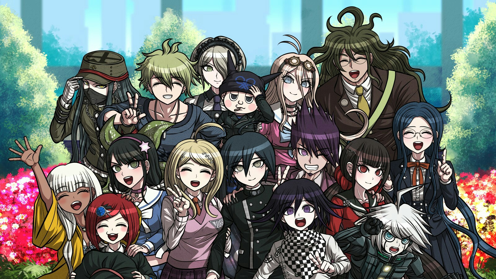 Danganronpa V3:Killing Harmony wallpaper