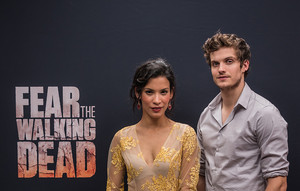Daniel Sharman and Danay Garcia