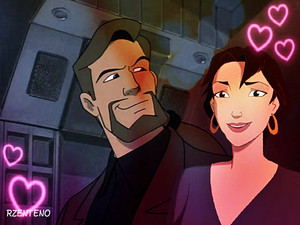 David Xanatos And marina