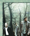 Dean, Benny and Castiel - supernatural fan art