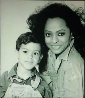 Diana And Younger Son, Evan Ross