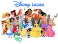 Disney Ladies - disney-leading-ladies fan art