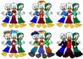 Disney s Quack Pack  Huey  Dewey and Louie Duck Outfits - walt-disney-characters fan art