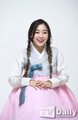 Dreamcatcher Hanbok Interview with TVDaily - Gahyeon