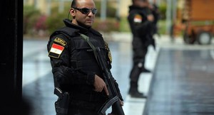 EGYPT POLICE PRO ELSISI SATAN Squall Leonhart