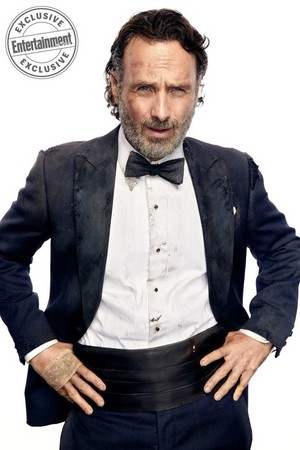 EW: Dead and Loving it! ~ Andrew Lincoln