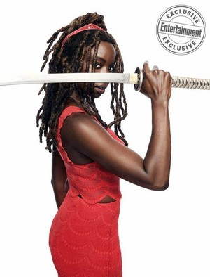 EW: Dead and Loving it! ~ Danai Gurira