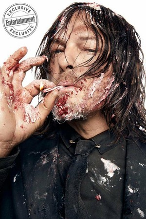 EW: Dead and Loving it! ~ Norman Reedus
