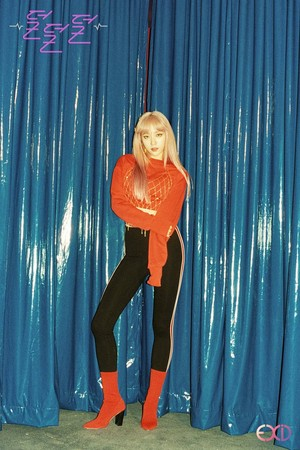 EXID 4th Mini Album 'Full Moon' Concept Image - Hani