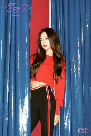 EXID 4th Mini Album 'Full Moon' Concept Image - Solji