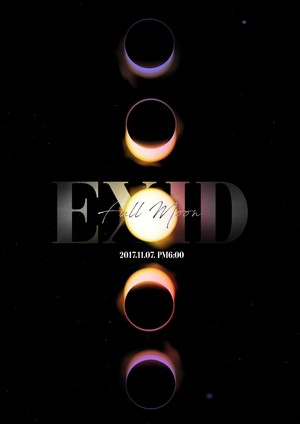 EXID 4th Mini Album 'Full Moon' Concept Teaser