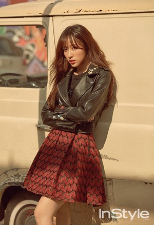 EXID's Hani for InStyle Magazine November Issue