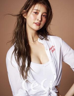 EXID's Junghwa for CeCi Magazine November Issue