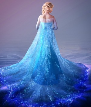 Elsa Production artwork by Lisa Keene