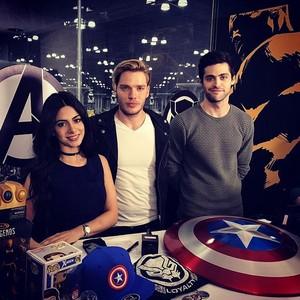 Emeraude, Matt and Dom