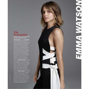Emma Watson in Marie Claire - US (August 2017)