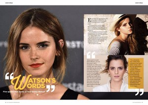 Emma Watson in Slim - Australia (Winter/Spring 2017)