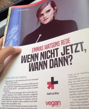 Emma Watson in Vegan - Germany (August 2017)