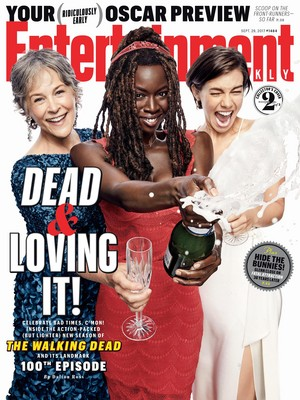 Entertainment Weekly Cover: Dead and Loving It! - Melissa McBride, Danai Gurira and Lauren Cohan